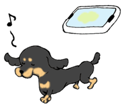 the Dachshund festival !! sticker #444892