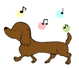 the Dachshund festival !! sticker #444904