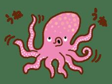 Octopus's Garden sticker #445609