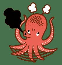 Octopus's Garden sticker #445624