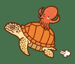 Octopus's Garden sticker #445625