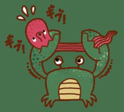 Octopus's Garden sticker #445626