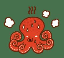 Octopus's Garden sticker #445631