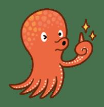 Octopus's Garden sticker #445642