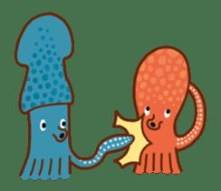 Octopus's Garden sticker #445646