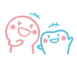 back tooth's OKKUN sticker #445956