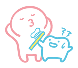 back tooth's OKKUN sticker #445960
