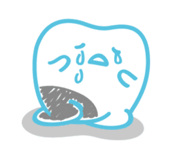 back tooth's OKKUN sticker #445964