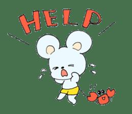 Cute! animal friends sticker #446338