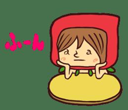 15 and Mushroom sticker #446379