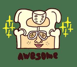 15 and Mushroom sticker #446384