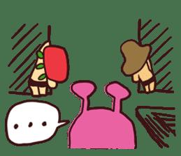 15 and Mushroom sticker #446390