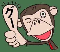 Mr.Chimpanzee sticker #446656