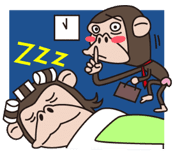 Mr.Chimpanzee sticker #446665