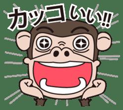 Mr.Chimpanzee sticker #446669