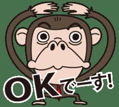 Mr.Chimpanzee sticker #446672