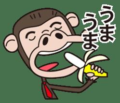 Mr.Chimpanzee sticker #446674
