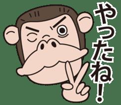 Mr.Chimpanzee sticker #446675