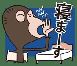 Mr.Chimpanzee sticker #446678