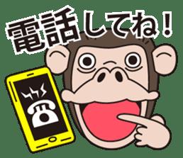 Mr.Chimpanzee sticker #446679