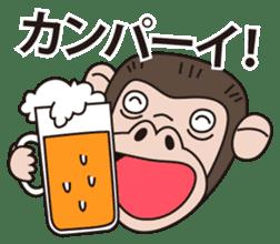 Mr.Chimpanzee sticker #446681