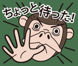 Mr.Chimpanzee sticker #446684