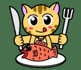 Kitten Nyanta sticker #446814