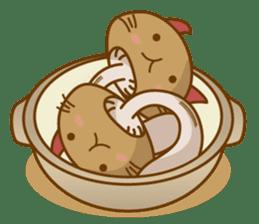 Mushroom-cat sticker #447209