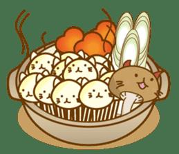 Mushroom-cat sticker #447210