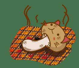 Mushroom-cat sticker #447211