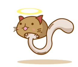 Mushroom-cat sticker #447212