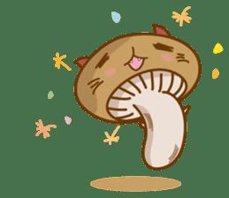 Mushroom-cat sticker #447216