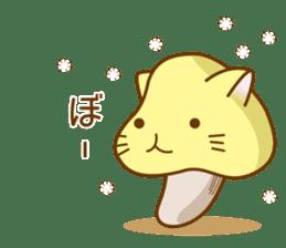 Mushroom-cat sticker #447222