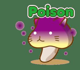 Mushroom-cat sticker #447231