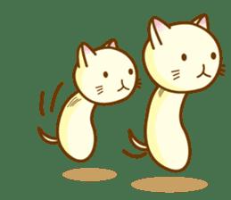 Mushroom-cat sticker #447237