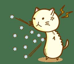 Mushroom-cat sticker #447242