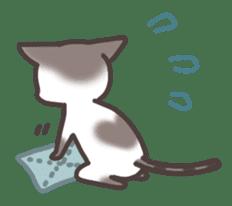 pretty cat sticker #447410