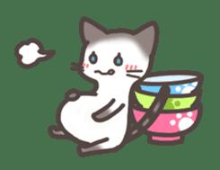pretty cat sticker #447414