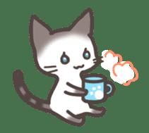 pretty cat sticker #447415
