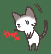 pretty cat sticker #447418