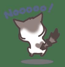 pretty cat sticker #447431