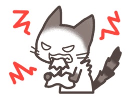 pretty cat sticker #447433