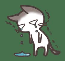 pretty cat sticker #447439