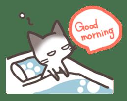 pretty cat sticker #447446