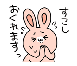 Flexibility Rabbit sticker #448496