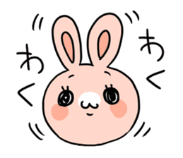 Flexibility Rabbit sticker #448514