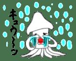 Mr. Cuttlefish sticker #449334