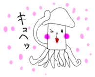 Mr. Cuttlefish sticker #449345