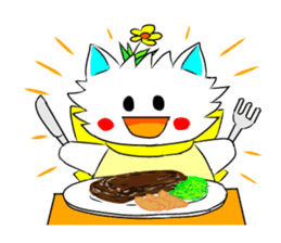 Pudding-chan kitten sticker #449654