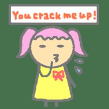 Momosan(English ver.) sticker #450056